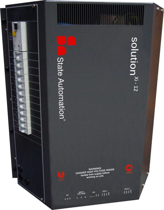 State Automation's Solution Xi 12 channels is a flicker free LED ready dimmer pack.