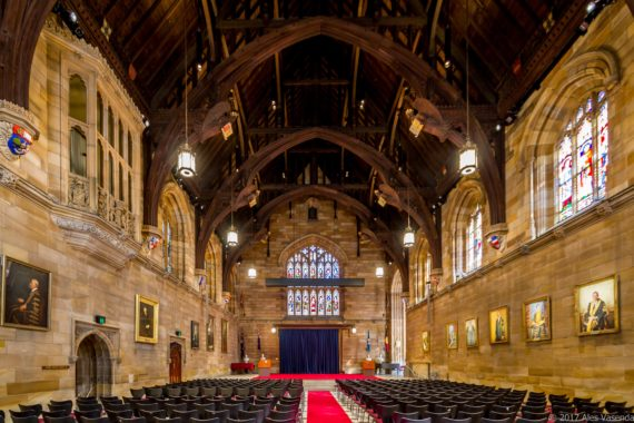 The Great Hall of the University of Sydney _ 3S Lighting - D3SIGN - Australian Luminaire Manufacturer